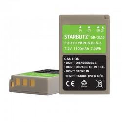 Batería compatible Olympus...