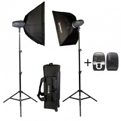 Kit estudio 2x 400 vatios seg
