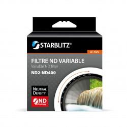 STARBLITZ SFINDV62 ND variable (ND2-ND400) filtro (Ø 62mm)
