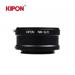 Anillo mecanico MF lente Nikon camara Sony E